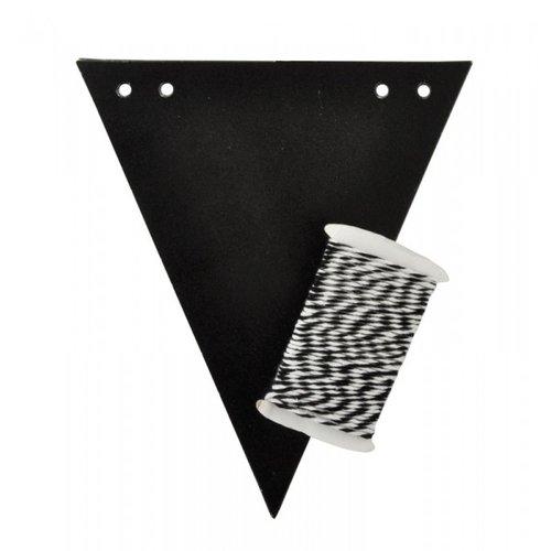 Kaisercraft - Lucky Dip - Bunting Kit - Flags - Chalkboard