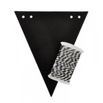 Kaisercraft - Lucky Dip - Bunting Kit - Flags - Chalkboard