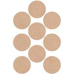Kaisercraft - Lucky Dip - Stickers - Circles - Kraft