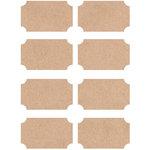Kaisercraft - Lucky Dip - Stickers - Labels - Kraft