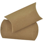 Kaisercraft - Lucky Dip - Pillow Gift Boxes - Kraft