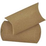 Kaisercraft - Lucky Dip - Pillow Gift Boxes - Kraft
