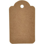 Kaisercraft - Lucky Dip - Tags - Scallop - Small - Kraft