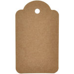 Kaisercraft - Lucky Dip - Tags - Scallop - Kraft