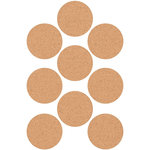 Kaisercraft - Lucky Dip - Stickers - Circles - Cork