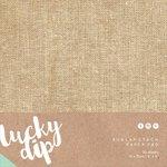 Kaisercraft - Lucky Dip - 6 x 6 Paper Pad - Burlap