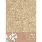 Kaisercraft - Lucky Dip - 6.25 x 11.75 Paper Pad - Burlap