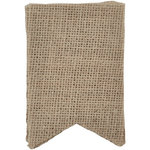 Kaisercraft - Lucky Dip - Pennants - Small - Burlap