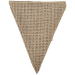 Kaisercraft - Lucky Dip - Flags - Small - Burlap