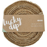 Kaisercraft - Lucky Dip - Burlap Roll - 2 Inches Wide