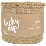 Kaisercraft - Lucky Dip - Burlap Roll - 4 Inches Wide
