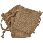 Kaisercraft - Lucky Dip - Jute Bags - 3.5 x 4