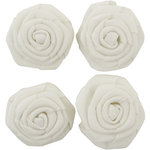 Kaisercraft - Lucky Dip - Burlap White Flowers