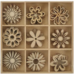 Kaisercraft - Lucky Dip - Wooden Shapes - Flower