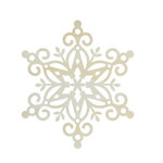 Kaisercraft - Lucky Dip Collection - Christmas - Decor Flourish - Medium - Snowflake