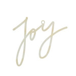 Kaisercraft - Lucky Dip Collection - Christmas - Decor Flourish - Medium - Joy Script Word