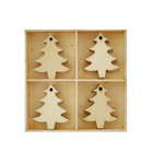 Kaisercraft - Lucky Dip Collection - Christmas - Flourish Pack - Christmas Trees