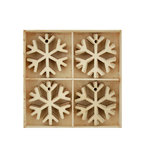 Kaisercraft - Lucky Dip Collection - Christmas - Flourish Pack - Snowflakes