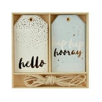 Kaisercraft - Lucky Dip Collection - Gift Tag Box - Hip Hip Hooray