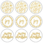 Kaisercraft - Lucky Dip Collection - Christmas - Foil Stickers - Tis the Season