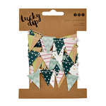 Kaisercraft - Lucky Dip Collection - Mini Paper Bunting - Confetti
