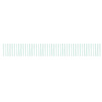 Kaisercraft - Lucky Dip Collection - Printed Tape - Mint Pinstripe