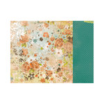 Kaisercraft - Marigold Collection - 12 x 12 Double Sided Paper - Amber