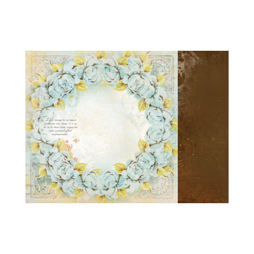 Kaisercraft - Marigold Collection - 12 x 12 Double Sided Paper - Mustard