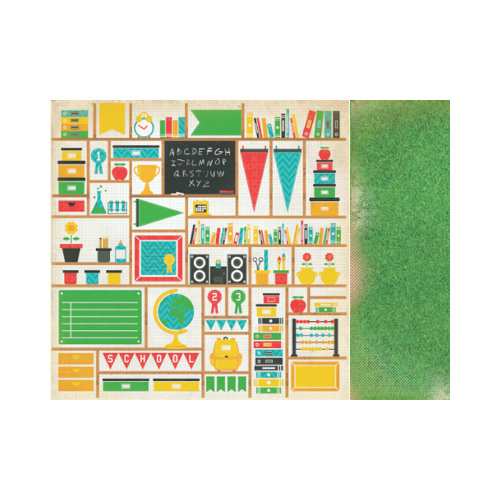 Kaisercraft - Class Act Collection - 12 x 12 Double Sided Paper - Achieve