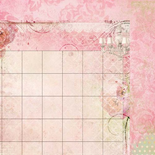 Kaisercraft - 365 Days Collection - 12 x 12 Double Sided Paper - Arrange