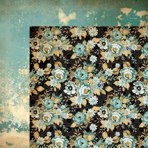 Kaisercraft - 75 Cents Collection - 12 x 12 Double Sided Paper - Penny