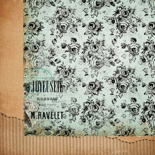 Kaisercraft - 75 Cents Collection - 12 x 12 Double Sided Paper - Sixpence