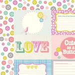 Kaisercraft - Suga Pop Collection - 12 x 12 Double Sided Paper - Gummi