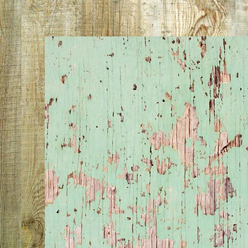 Kaisercraft - Base Coat Collection - 12 x 12 Double Sided Paper - Weathered