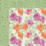 Kaisercraft - Flora Delight Collection - 12 x 12 Double Sided Paper - Euphoria