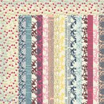 Kaisercraft - Lulu and Roy Collection - 12 x 12 Double Sided Paper - Dainty