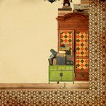Kaisercraft - In the Attic Collection - 12 x 12 Double Sided Paper - Photographs