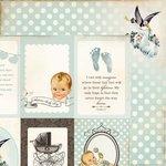 Kaisercraft - Bundle of Joy Collection - 12 x 12 Double Sided Paper - Cradle