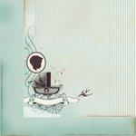 Kaisercraft - Bundle of Joy Collection - 12 x 12 Double Sided Paper - Bassinet