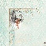 Kaisercraft - Bundle of Joy Collection - 12 x 12 Double Sided Paper - Stork