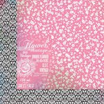 Kaisercraft - Lavender Haze Collection - 12 x 12 Double Sided Paper - Jacaranda