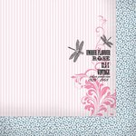 Kaisercraft - Lavender Haze Collection - 12 x 12 Double Sided Paper - Perfume