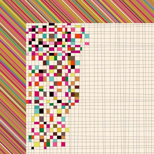 Kaisercraft - Hopscotch Collection - 12 x 12 Double Sided Paper - Marvellous