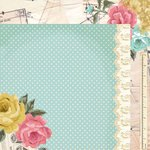Kaisercraft - Needle and Thread Collection - 12 x 12 Double Sided Paper - Seam