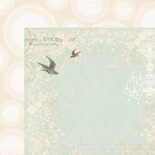 Kaisercraft - On This Day Collection - 12 x 12 Double Sided Paper - Matrimony