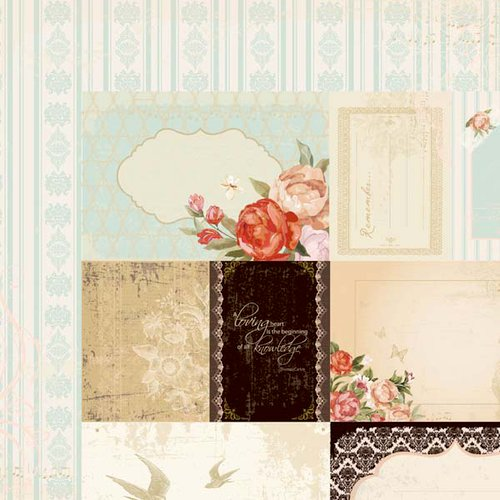Kaisercraft - On This Day Collection - 12 x 12 Double Sided Paper - I Do