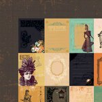 Kaisercraft - Miss Empire Collection - 12 x 12 Double Sided Paper - Ancestry