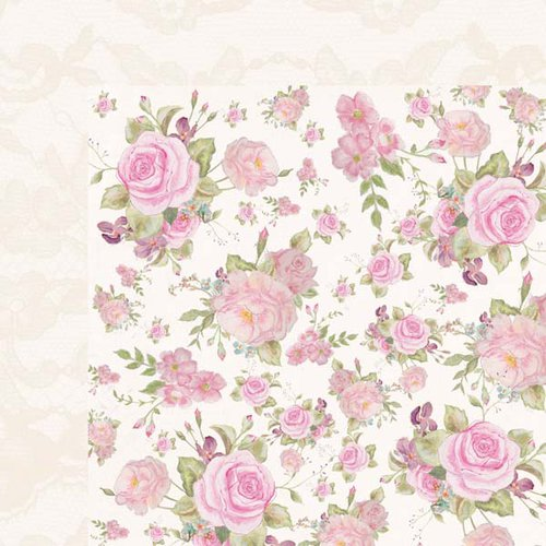 Kaisercraft - True Romance Collection - 12 x 12 Double Sided Paper - Adore