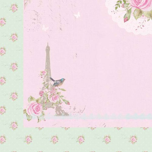 Kaisercraft - True Romance Collection - 12 x 12 Double Sided Paper - Day Dream