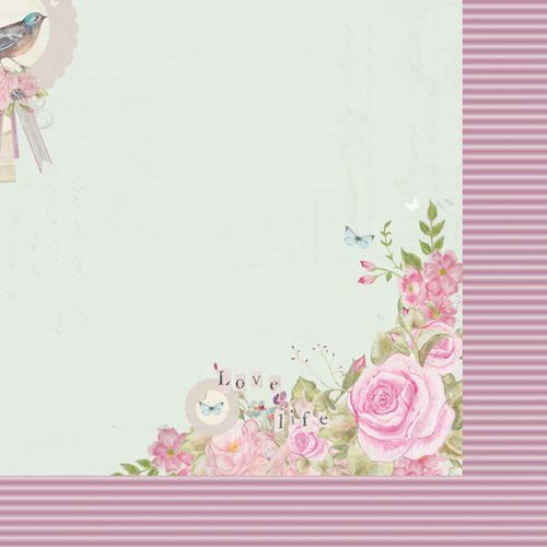 Kaisercraft - True Romance Collection - 12 x 12 Double Sided Paper - Faithful